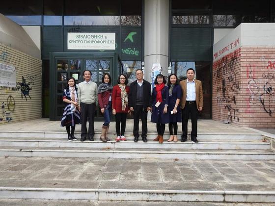 """Hội thảo """"Canh tác bền vững – SFARM"""" tại Trường đại học Nông nghiệp Athens, Hy Lạp"""