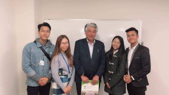 Chương trình trao đổi sinh viên ở Nhật Bản