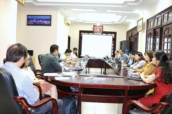 Hội thảo tổng kết dự án năm 2019 và lập kế hoạch năm 2020 tại thị trấn Lăng Cô (huyện Phú Lộc)