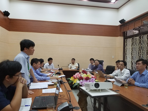 PGS.TS. Lê Đinh Phùng - Phó Hiệu trưởng chia sẽ một số thông tin về tiềm lực khoa học công nghệ, chuyển giao của nhà trường