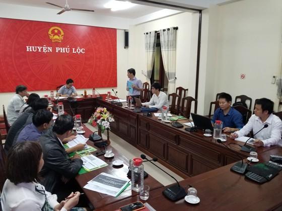 PGS.TS. Lê Đình Phùng - Phó Hiệu trưởng trường ĐHNL phát biểu tại buổi làm việc