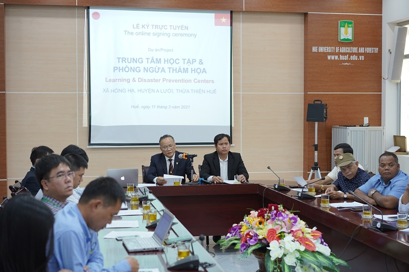 PGS.TS. Lê Văn An phát biểu tại buổi lễ